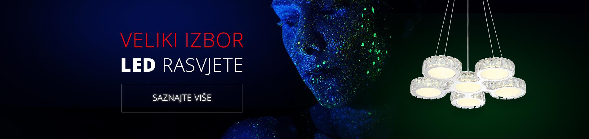 Veliki izbor LED rasvjete